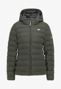 Schmuddelwedda - Zimní bunda - dunkeloliv - 4