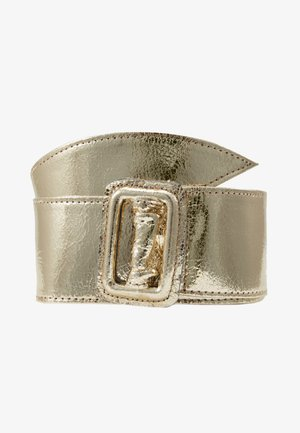 Waist belt - gold metallic