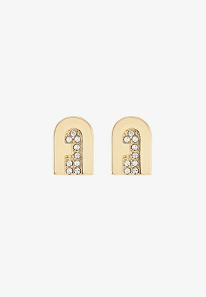 NEW STUD EARRING - Korvakorut - gold-coloured