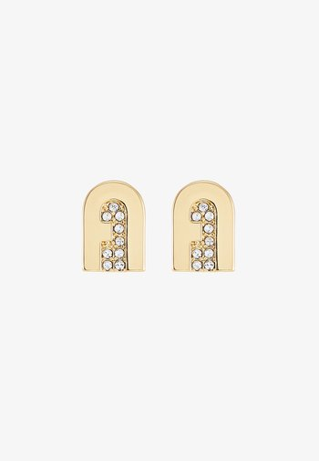NEW STUD EARRING - Pendientes - gold-coloured