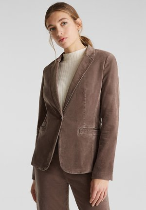 MIT STRETCHKOMFORT - Blazer - light taupe