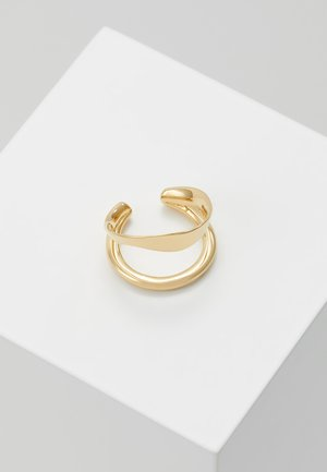 RIPPLES EARCUFF - Örhänge - gold-coloured