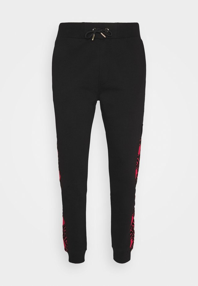 GALVEZ JOGGER - Trainingsbroek - black /red