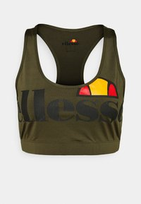 Ellesse - PRESELLE - Medium support sports bra - khaki