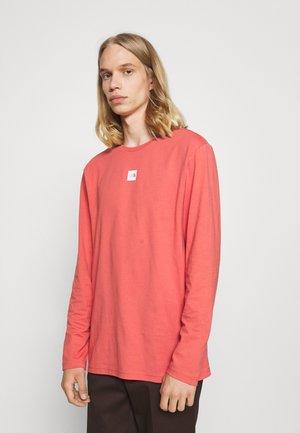 CENTRAL LOGO - Långärmad tröja - faded rose