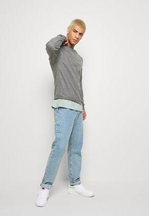 NEWPORT CORE CREW 2 PACK - Sweatshirt - grey/navy