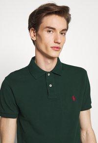 Polo Ralph Lauren - SHORT SLEEVE KNIT - Poloshirts - college green - 3