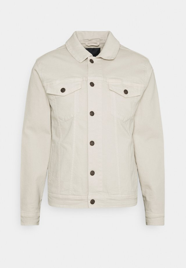 CASH JACKET - Kurtka jeansowa - off-white