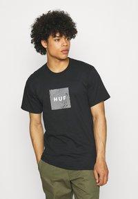 HUF - FEELS TEE - Print T-shirt - black - 0