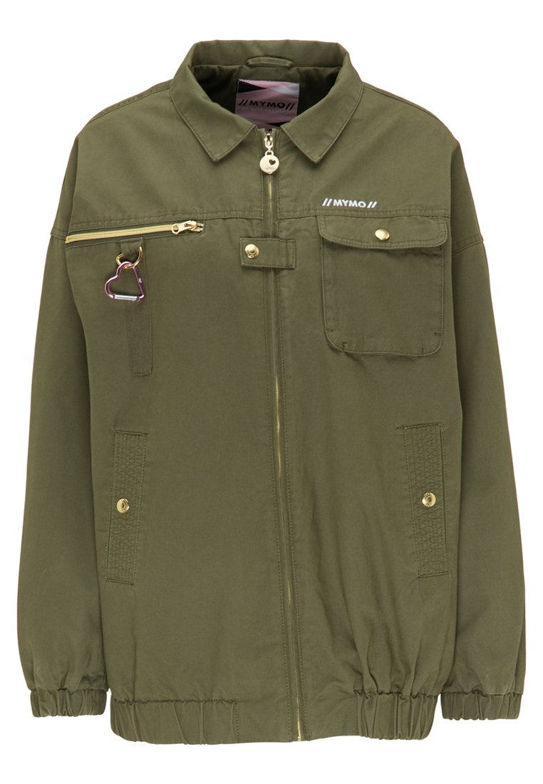 myMo Chaqueta fina - military green FQBzs