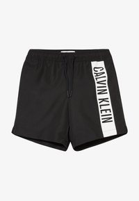 Calvin Klein Swimwear - MEDIUM DRAWSTRING INTENSE POWER - Swimming shorts - black - 3