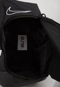 Nike Performance - HOOPS ELITE PRO BACK PACK - Rucksack - black/white - 4