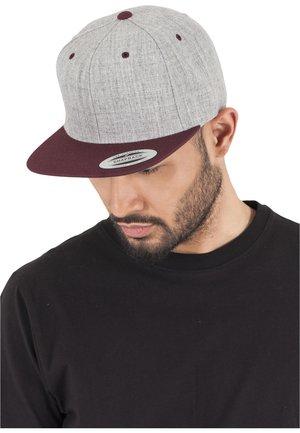 CLASSIC SNAPBACK 2-TONE - Cap - light grey/purple