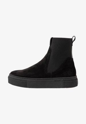 MARIE - Platform ankle boots - black
