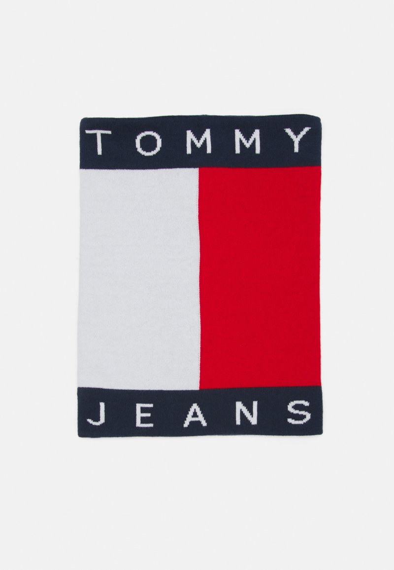 Tommy Jeans - FLAG SNOOD - Scarf - blue