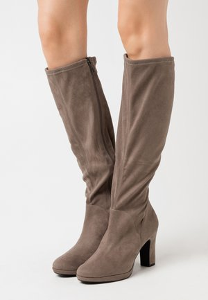 BOOTS - High heeled boots - pepper