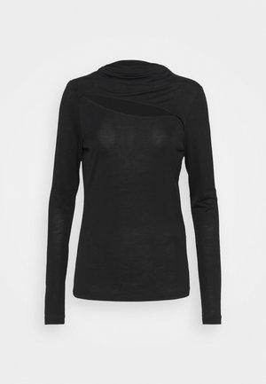 BRYN - Long sleeved top - black