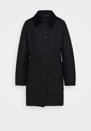 BELSAY WAX JACKET - Light jacket - black