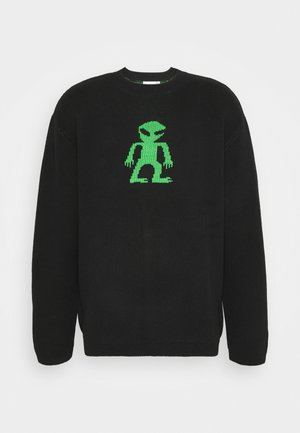 JOCUM ALIEN SWEATER UNISEX  - Neule - black