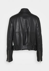 WEEKEND MaxMara - AXE - Leather jacket - schwarz - 1