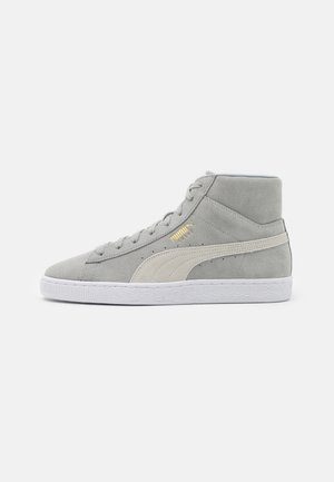 SUEDE MID XXI UNISEX - Sneakers alte - quarry/white