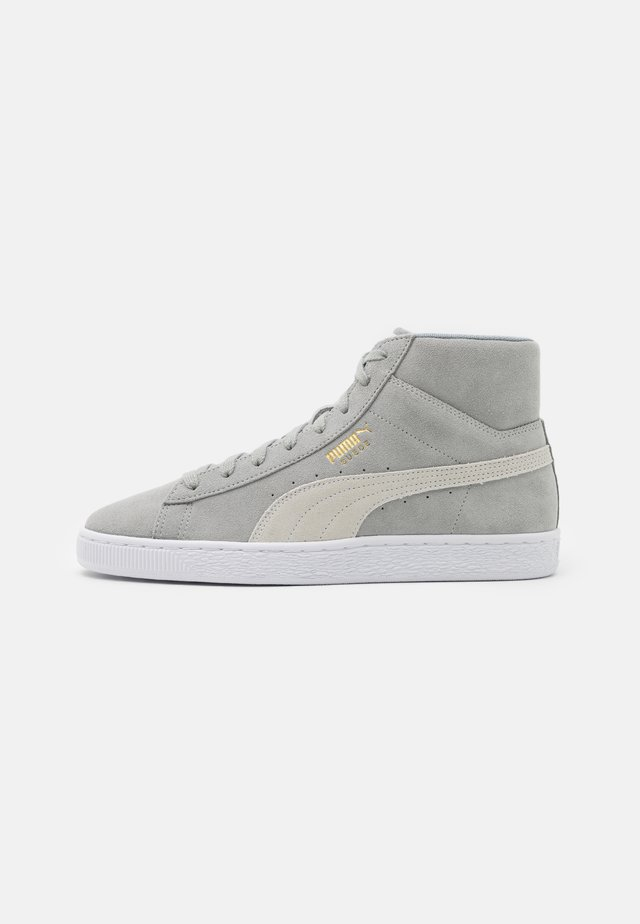 SUEDE MID XXI UNISEX - High-top trainers - quarry/white