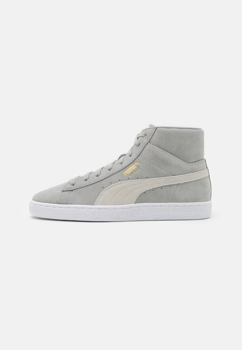 Puma - SUEDE MID XXI UNISEX - High-top trainers - quarry/white
