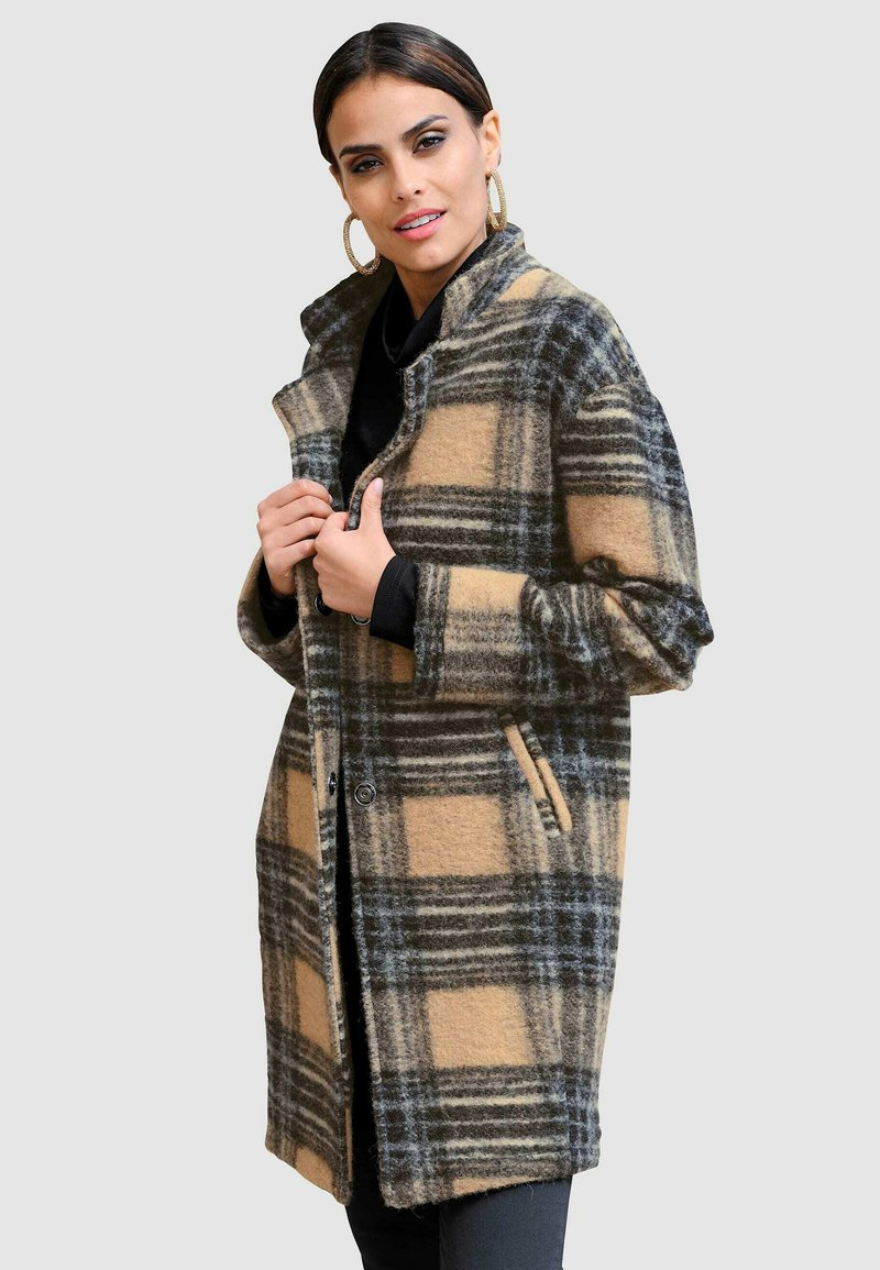 Alba Moda - Classic coat - camel,braun