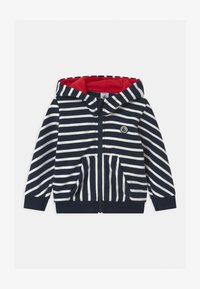 Petit Bateau - Zip-up hoodie - smoking/marshmallow - 0