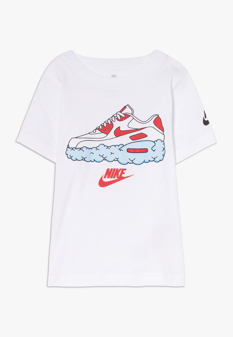 Nike Sportswear - AIRMAX CLOUDS TEE - Print T-shirt - white
