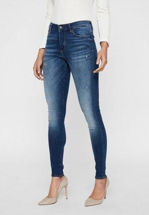 VMTERESA  - Jeans Skinny Fit - dark blue denim