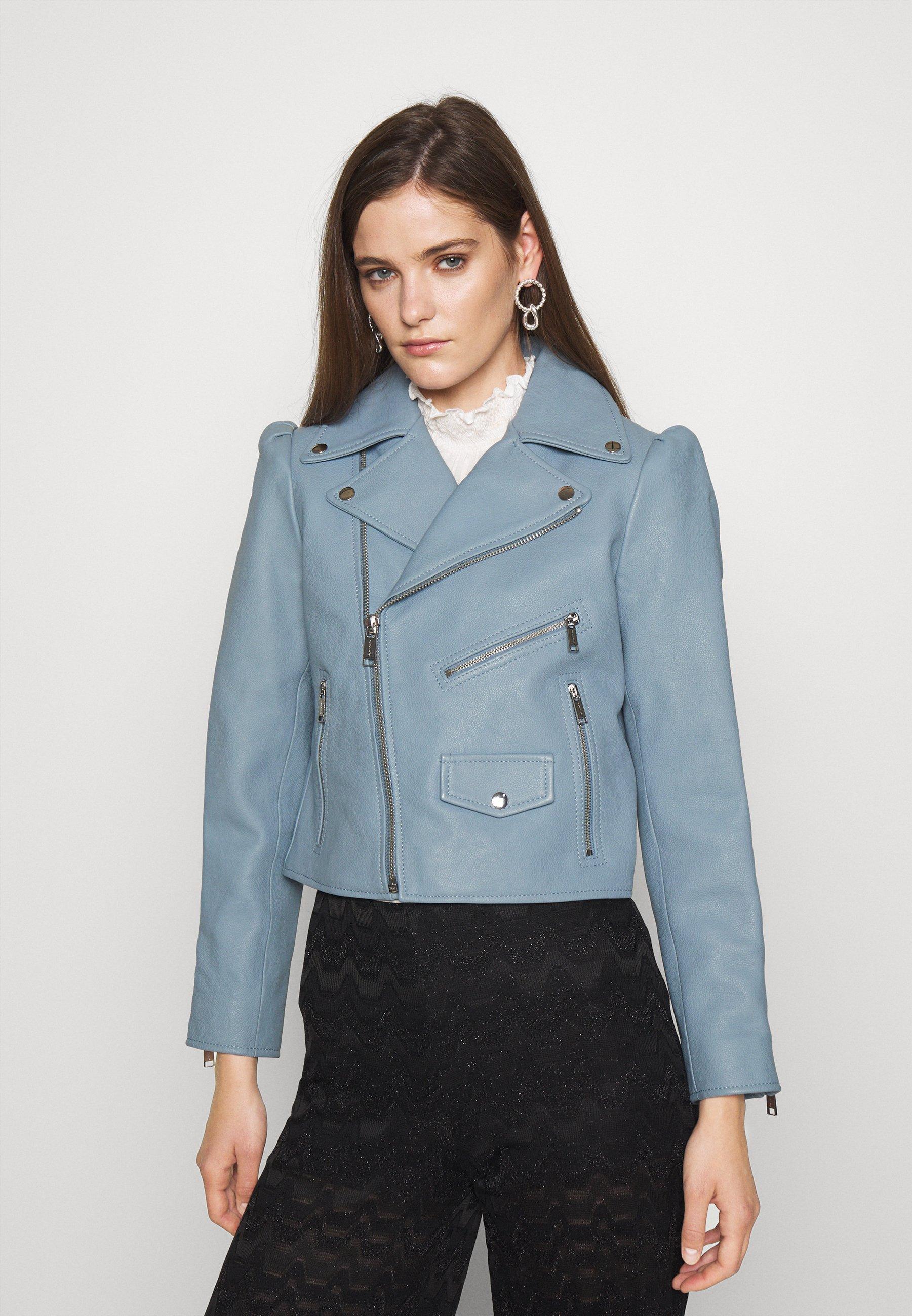Women PUFF SLEEVE JACKET - Leather jacket