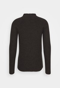 Icebreaker - MENS HILLOCK FUNNEL NECK - Jumper - peat heather - 1
