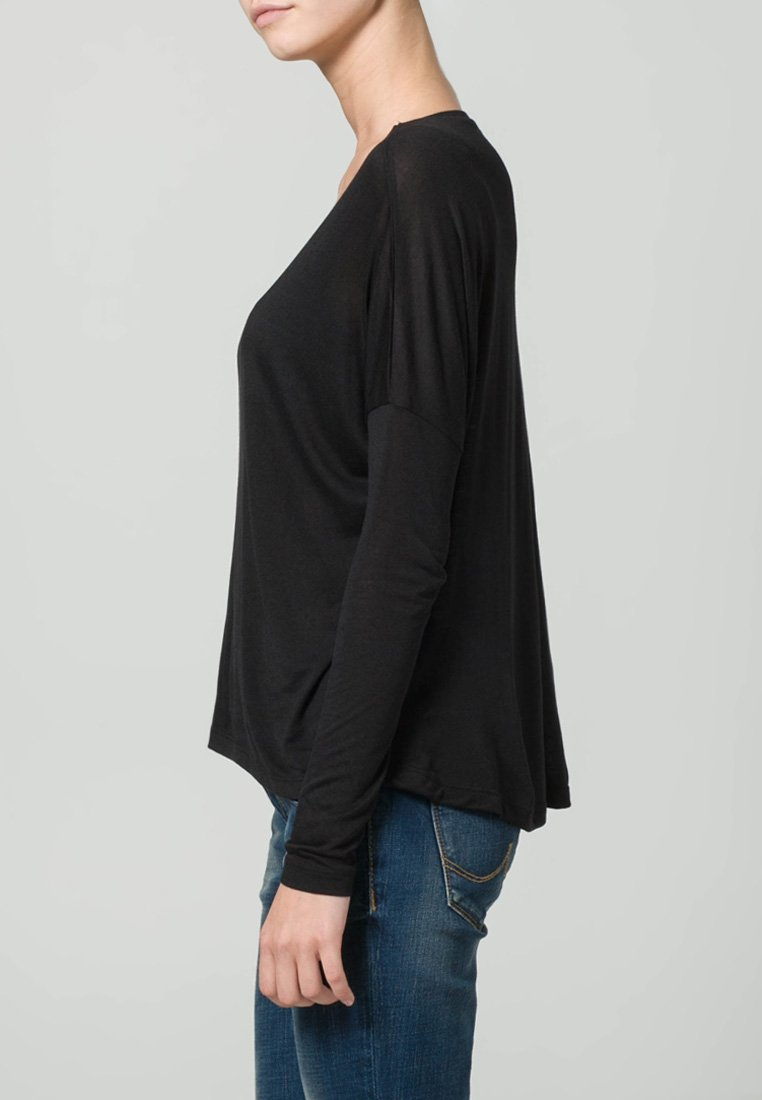 mbyM Langarmshirt - black/schwarz rYzLaW
