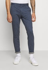 Only & Sons - ONSMARK PANT STRIPES - Trousers - dress blues - 0