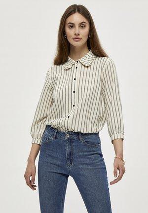 Button-down blouse - white st