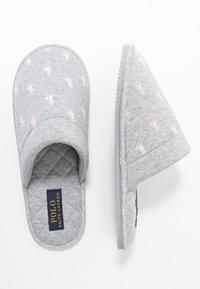 Polo Ralph Lauren - SUMMIT SCUFF  - Slippers - grey/light pink - 3
