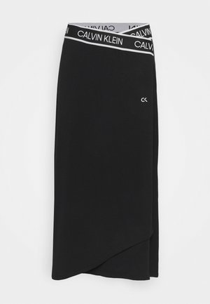 SKIRT - Gonna sportivo - black