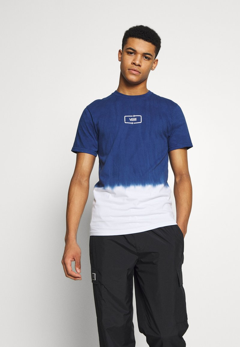 Vans - DIP DYED  - Print T-shirt - sodalite blue