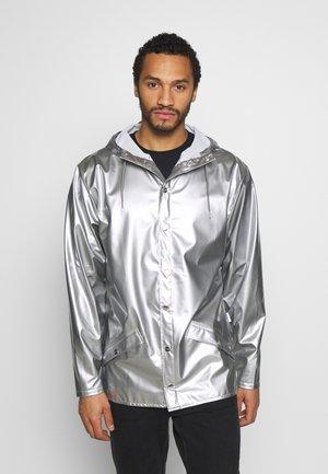UNISEX JACKET - Impermeable - silver