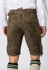 Stockerpoint - MICHEL - Shorts - brown - 4