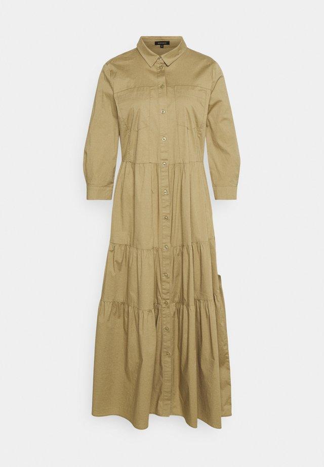 Sukienka koszulowa - muddy green
