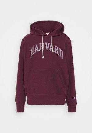 HARVARD UNIVERSITY HOODED - Sudadera - bordeaux