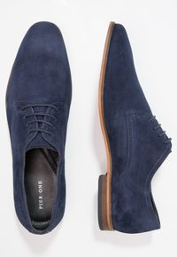 Pier One - Smart lace-ups - navy - 1