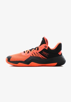 D.O.N. ISSUE 1 - Basketball shoes - core black/solar red
