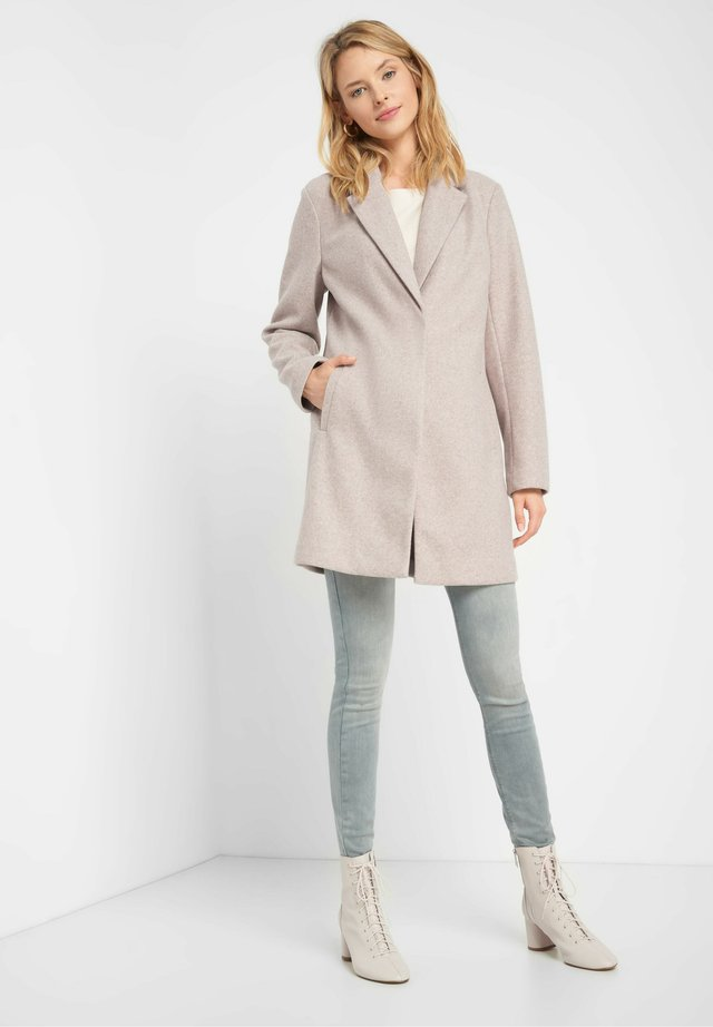 Short coat - graubraun