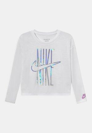 IRIDESCENT FUTURA - Camiseta de manga larga - white