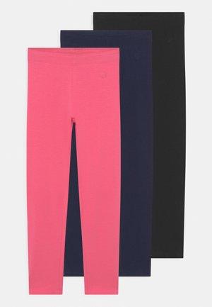 KID 3 PACK - Legging - pink lemonade/dark sapphire/anthracite