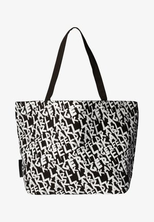 Shopping Bag - black/ white