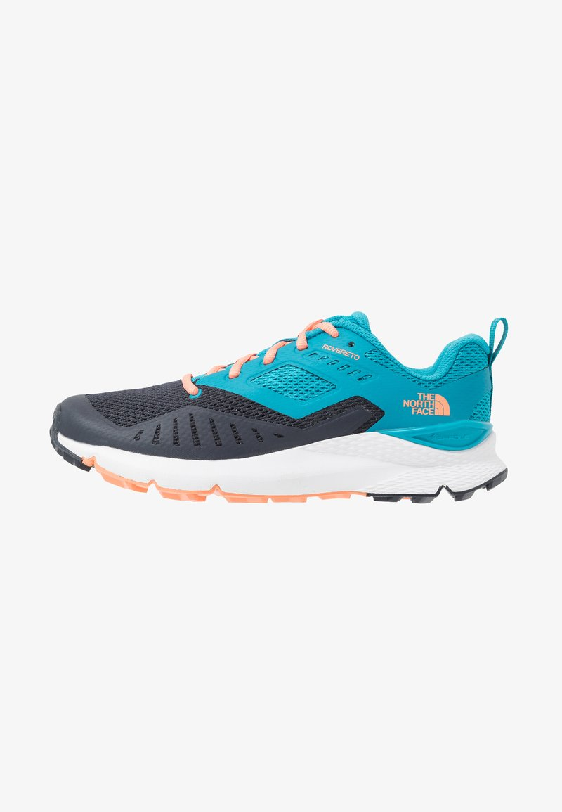 The North Face - ROVERETO  - Trail running shoes - caribbean sea/urban navy